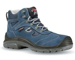 Scarpa Antifortunistica FEELING U-Power Alta Scamosciata S1P (Taglia da 38 A 46)